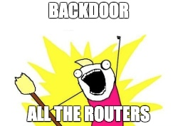 Backdoor Modules for Netgear, Linksys, and Other Routers
